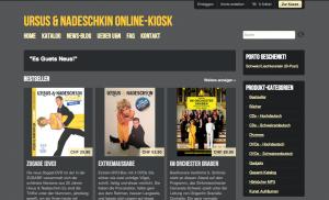 Ursus & Nadeschkin Online-Kiosk