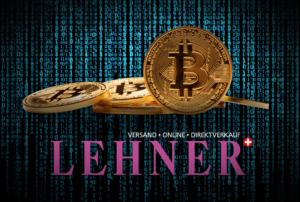Bitcoin bei Lehner Versand